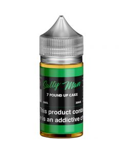 SALTY MAN NICOTINE SALT E-LIQUID 7 POUND OF CAKE