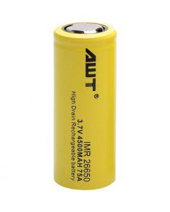 AWT IMR 26650 Battery 3.7V  4500mAh 75A