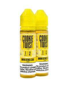 COOKIE TWIST E-LIQUID BANANA OATMEAL COOKIE