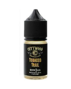 CUTTWOOD HAND CRAFTED E-LIQUID TOBACCO TRAIL 30ML