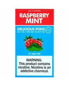 DELICIOUS PODS RASPBERRY MINT
