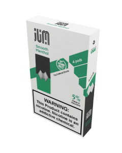 JUM PREFILLED REPLACEMENT PODS SMOOTH MENTHOL