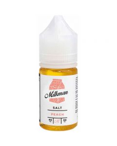 THE MILKMAN SALT E-LIQUID PEACH