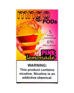 MNGO PREFILLED REPLACEMENT PODS PINK LEMONADE