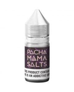 PACHAMAMA SALTS E-LIQUID STARFRUIT GRAPE
