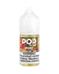 POP CLOUDS THE SALT NICOTINE ORANGE