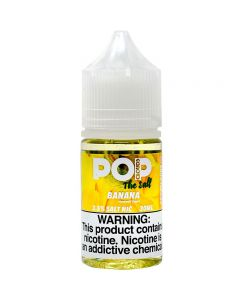 POP CLOUDS THE SALT NICOTINE BANANA