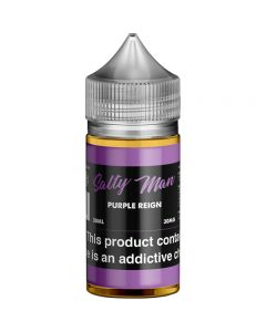 SALTY MAN NICOTINE SALT E-LIQUID PURPLE REIGN
