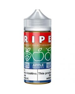 RIPE COLLECTION BY VAPE 100 E-LIQUID APPLE BERRIES
