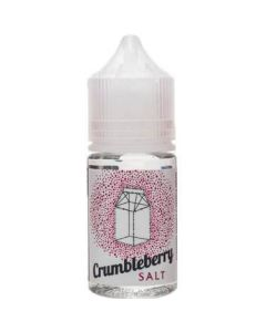THE MILKMAN SALT NICOTINE E-LIQUID CRUMBLEBERRY