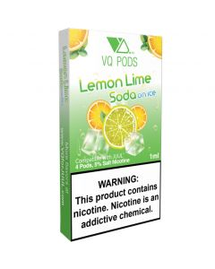 VQ PREFILLED REPLACEMENT PODS LEMON LIME SODA ON ICE
