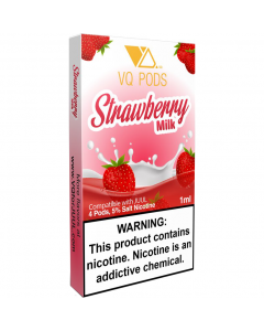 VQ PREFILLED REPLACEMENT PODS STRAWBERRY MILK
