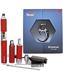 yocan evolve 3 in 1 wax oil dry herb