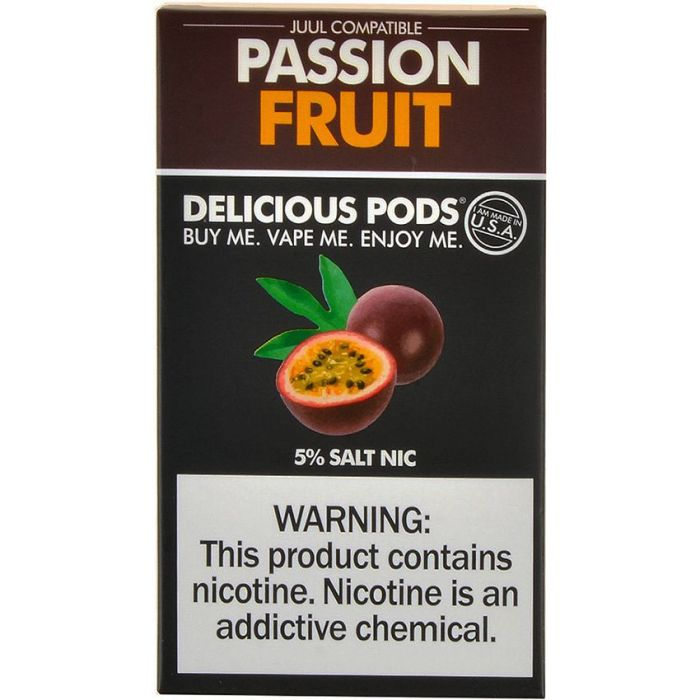 Delicious Pods Passion Fruit Juul Compatible