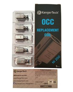 KangerTech (0.15 OHM) OCC Ni-200 Replacement coils 5PK/CT