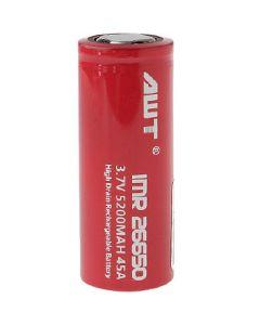 AWT IMR 26650 Battery 3.7V  5200mAh 45A