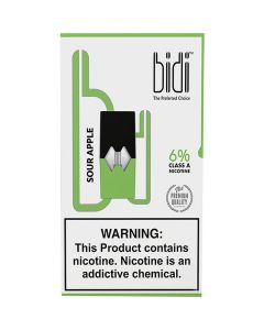 BIDI VAPOR SOUR APPLE