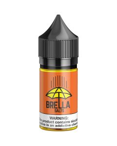 BRELLA SALTS PINEAPPLE ORANGE GUAVA E-LIQUID