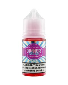 DINNER LADY SALT E-LIQUID BLACKBERRY CRUMBLE
