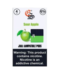 EONSMOKE SOUR APPLE PODS