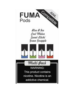 Fuma Pods Multi Pack for Juul 4pcs