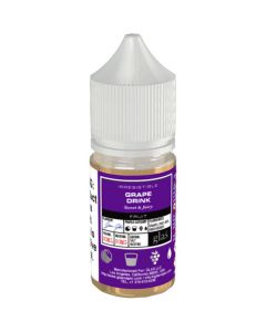 BASIX SERIES NICOTINE SALT E-LIQUID BY GLAS GRAPE DRINK