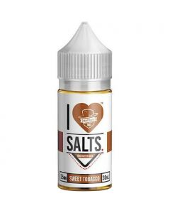I Love Salts Sweet Tobacco by Mad Hatter 30ml