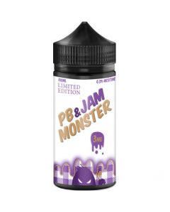 JAM MONSTER E-LIQUID BP AND JAM