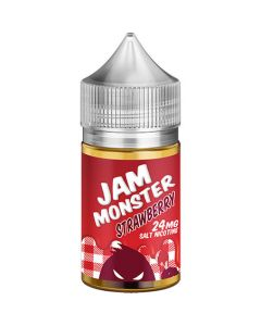 JAM MONSTER SALT NICOTINE E-LIQUID STRAWBERRY