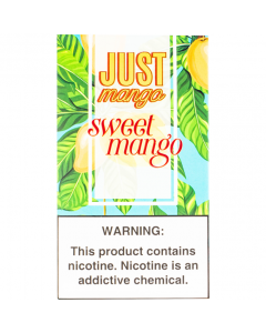 JUST MANGO PREFILLED COMPATIBLE PODS SWEET MANGO