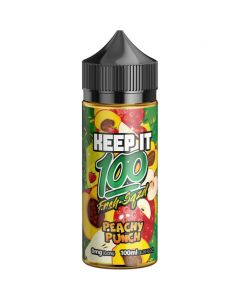 Keep It 100 Peachy Punch 100ml (bottle)