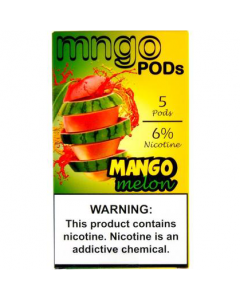 MNGO PREFILLED REPLACEMENT PODS MANGO MELON