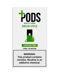 PLUS PODS GREEN APPLE