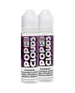 POP CLOUDS E-LIQUID GRAPE VAPE