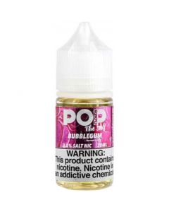 POP CLOUDS THE SALT NICOTINE BUBBLEGUM
