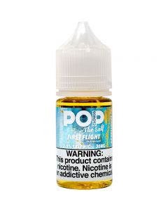 POP CLOUDS THE SALT NICOTINE FIRST FLIGHT
