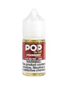 POP CLOUDS THE SALT NICOTINE STRAWBERRY