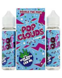pop clouds double the pop blue razz