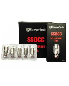 KangerTech NiCr SSOCC Replacement Coils 5CT/PK