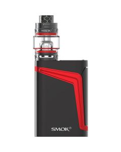 smok v-fin black red color