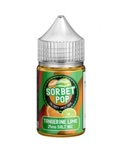 SORBET POP SALT E-LIQUID TANGERINE LIME