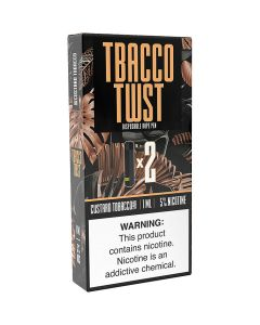 TWIST CUSTARD TOBACCO DISPOSABLE