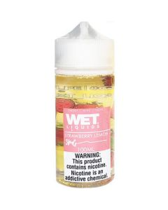 WET LIQUIDS STRAWBERRY LEMON