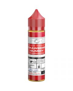 basix series strawberry gummy glas 60ml