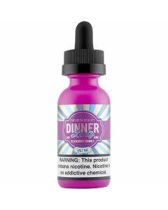 DINNER LADY SALT E-LIQUID BLACKBERRY CRUMBLE