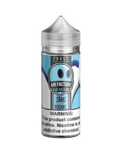 FROST FACTORY BY AIR FACTORY E-LIQUID BLUE RAZZ ICE