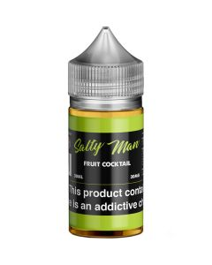 SALTY MAN NICOTINE SALT E-LIQUID FRUIT COCKTAIL