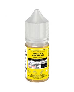 BASIX SERIES NICOTINE SALT E-LIQUID BY GLAS BANANA CREAM PIE