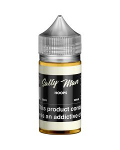SALTY MAN NICOTINE SALT E-LIQUID HOOPS