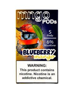 MNGO PREFILLED REPLACEMENT PODS BLUEBERRY MANGO